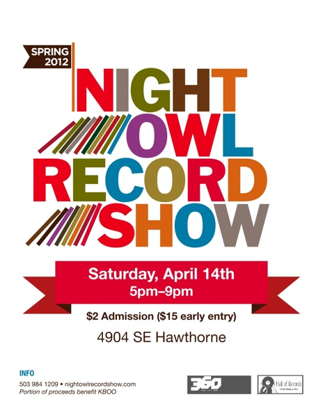 Would you like to go to the next Night Owl Record Show?