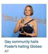 jodie foster's globes